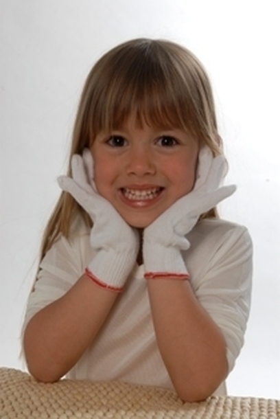 Rękawiczki dla dzieci (3 pary) (1)