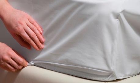 Pokrowiec na materac 1-osobowy wysoki - 90 x 200 x 20 (cm) (1)