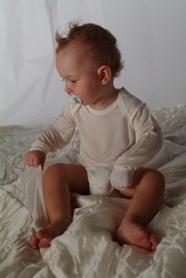 Body dla dzieci z wszytymi rękawiczkami (2 sztuki)